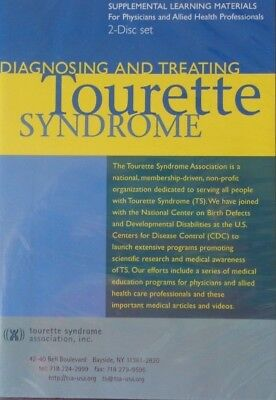 Tourette Syndrome Dvd And Cd   Diagnosing And Treating Tourette Syndrome  B12