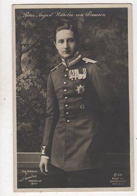 Prinz August Wilhelm Von Preussen RP Postcard Germany Royalty 044b
