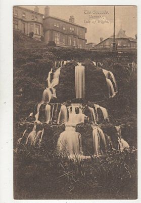 The Cascade Ventnor Isle Of Wight Vintage Postcard 837a