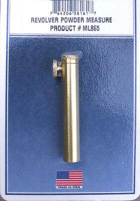 *Best Revolver Powder Measure 5-50 Grains- .31-.36 &.44 Cal. Fits Pietta Uberti