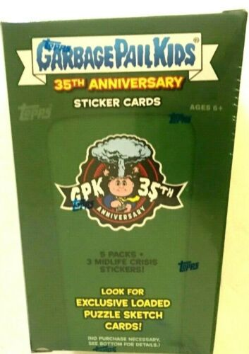 2020 TOPPS GARBAGE PAIL KIDS 35th ANNIVERSARY BLASTER  BOX Live in stock