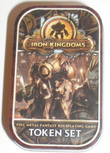 Iron Kingdoms RPG Token Set PIP 91071 in tin
