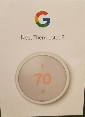 Nest ThermostatE T4000ES New!! White