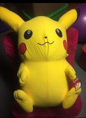 Pokemon Pikachu Life Size Stuffed Animal Plush 3ft 4 In Tall Character Toy - Girls In Pokemon