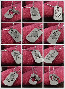 Hot-Selling-Stainless-Steel-Chains-12-Zodiac-Signs-Pendant-Necklace-Colorfast