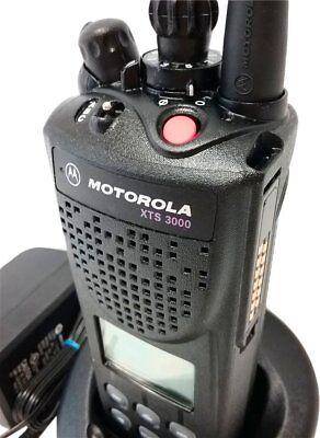 Motorola Xts3000 Ii Two Way Radio Public Safey Smartnet Smartzone 800mhz