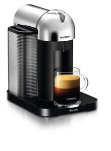 Nespresso vertuoline CHROME NEW in box coffee machine
