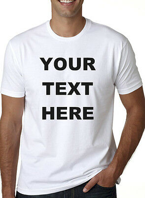 Buy your Custom Personalized T Shirt - Put Your TEXT - print what U want - Buy Custom