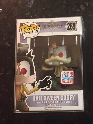 FUNKO POP HALLOWEEN GOOFY NYCC 2017 EXCLUSIVE WITH THE FALL CONVENTION STICKER