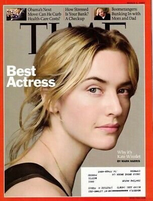 Time Magazine March 2, 2009- Best Actress: Kate