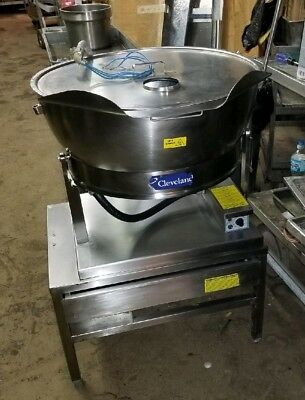 Cleveland Set15 Electric Kettletable15 Gal- 100 Avail- Single Or Three Phase