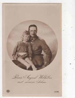 Prinz August Wilhelm & Sohn RP Postcard Germany Royalty 044b