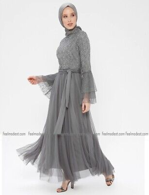 Abaya Muslim Islamic Dress Womens Long Prom Gown Evening Party Maxi Dress