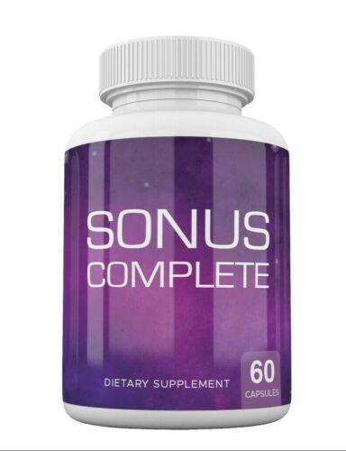 Sonus Complete Tinnitus Relief Supplement, 60 Capsules, Proprietary Blend