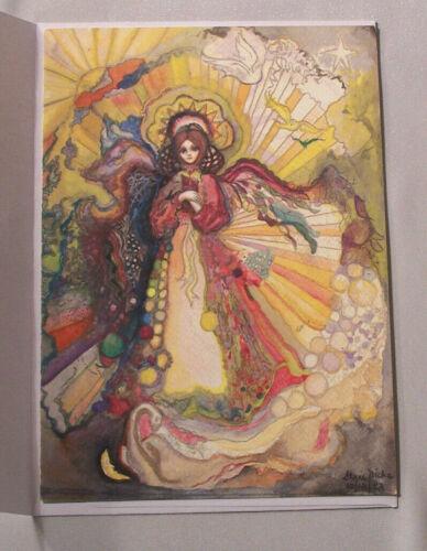 "RHIANNON, ART, BY STEVIE NICKS, GREETING CARD, PRINT,5"" X 7"" RARE COLLECTIBLE"