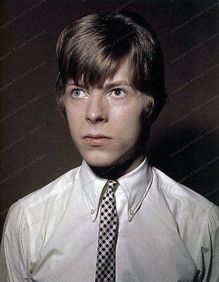 8x10 Print David Bowie Early Teenager #DB74