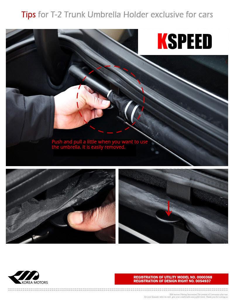 Fits: JAGUAR XE XJ XF XKR I‑Pace F-Pace E‑Pace XJ8 XJS XJR T-2 Umbrella Holder