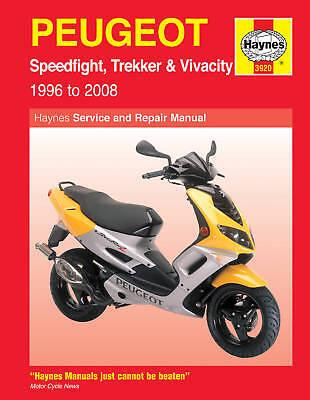 Haynes Manual 3920 - Peugeot Speedfight/Trekker/Vivacity - workshop & service