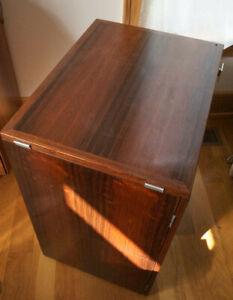 Danish Modern Dyrlund Rosewood vintage folding Cabinet, Wegner, Juhl, Mathsson
