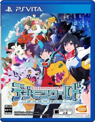 SONY PSVITA Japan Digimon World Next Order Tracking Number from (Next Track Order)