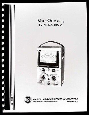 Rca Voltohmyst 195-a 195a Operating Manual