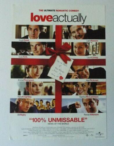 Love Actually Promo Video Shop Original Movie Poster