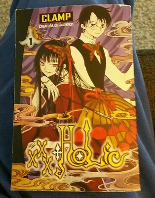 CLAMP Xxxholic Manga Book