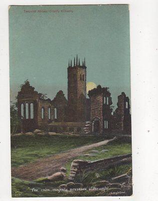 Terpoint Abbey Kilkenny Ireland Vintage Postcard 325b