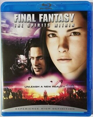 Final Fantasy: The Spirits Within (Blu-ray Disc, 2007)