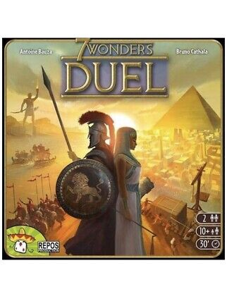 Asmodee 7 Wonders Duel - Two-Player Board Game (New - Sealed)