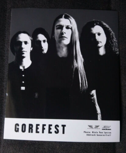 Gorefest- Promo Photo / Chapter 13 - 1998 SPV - Death Metal Holland