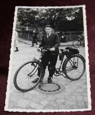 Ak*altes Fahrrad ca. 40er/50er Jahre*ungelaufen*altersgemäße Gebrauchsspuren