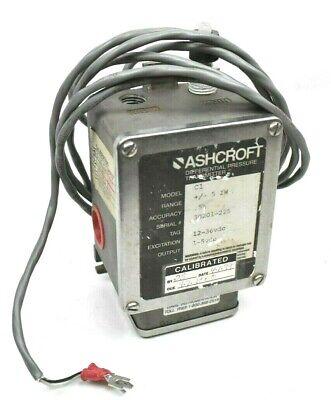 Ashcroft C1 Differential Pressure Transmitter 1-5 Vdc