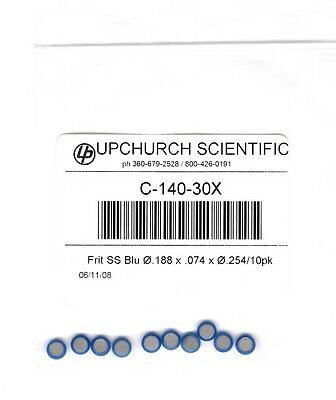 Upchurch Idex C-140-30x Stainless Steel Frits Pack Of 10