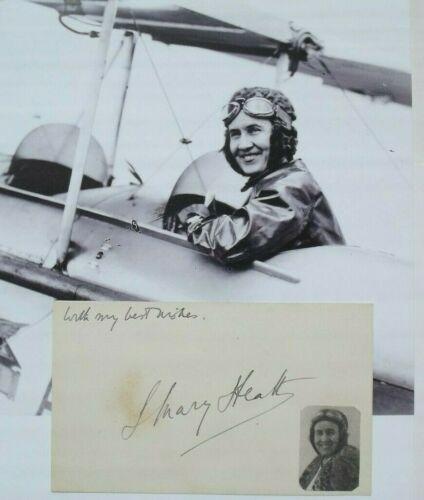 Mary Lady Heath Aviation Pioneer 1920