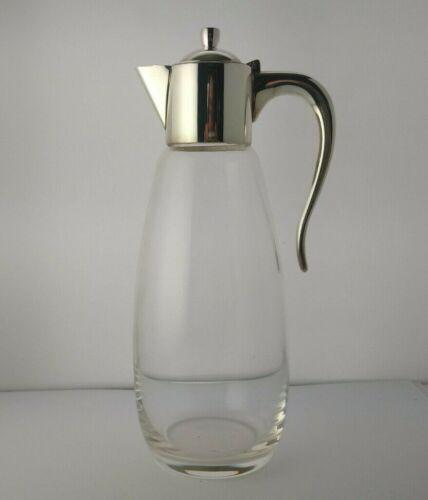 Stylish Vintage Solid Silver Claret Jug - Sheffield 2004