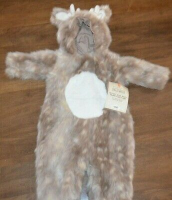 Pottery Barn Kids Woodland Baby Deer Halloween Costume 0-6 Months NEW Cute! - Pottery Barn Baby Halloween Costumes