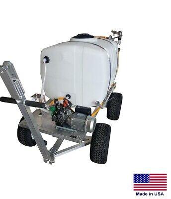 Sprayer Commercial - Trailer Mounted - 100 Gallon Tank - 4.5 Gpm - 115 Volt