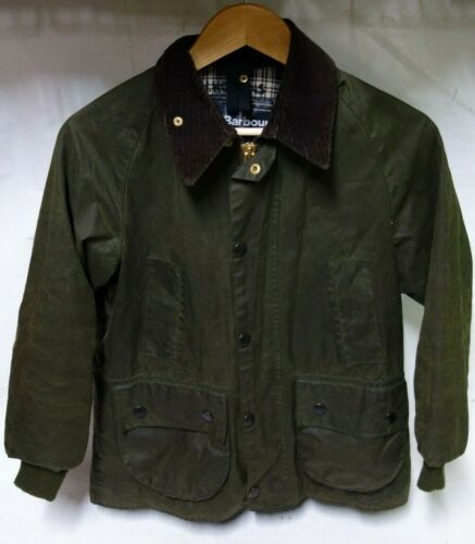 BARBOUR A110 Bedale Vintage Wax Jacket Youth Extra Large C32/81cm