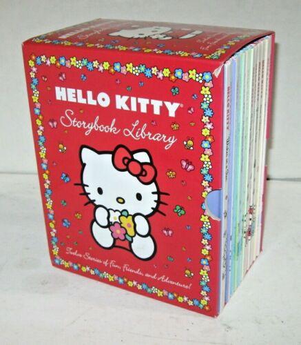 HELLO KITTY STORYBOOK LIBRARY 12 HARDBACK BOOK SET, FREE SHIPPING