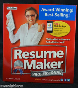Individual ResumeMaker 17 Professional Deluxe Resume Maker PC Software ...