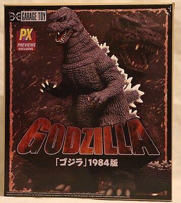 "X-Plus Godzilla 1984 Toho Previews Exclusive Version 30cm 12"" Vinyl Figure NEW"