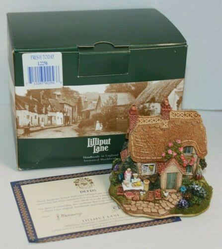 Lilliput Lane Cottage Figure Fresh Today Deed Box