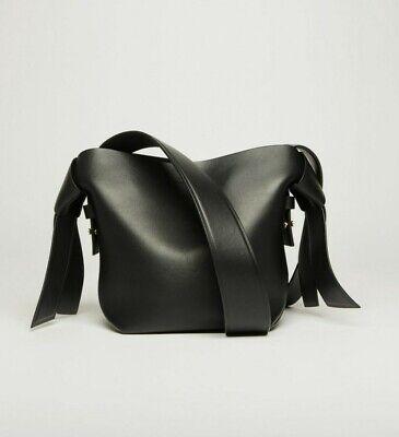 Acne Studios Musubi Black Leather Mini Bag NWOT