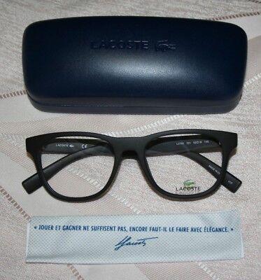 LACOSTE Eyeglasses L2795 001 Matte Black
