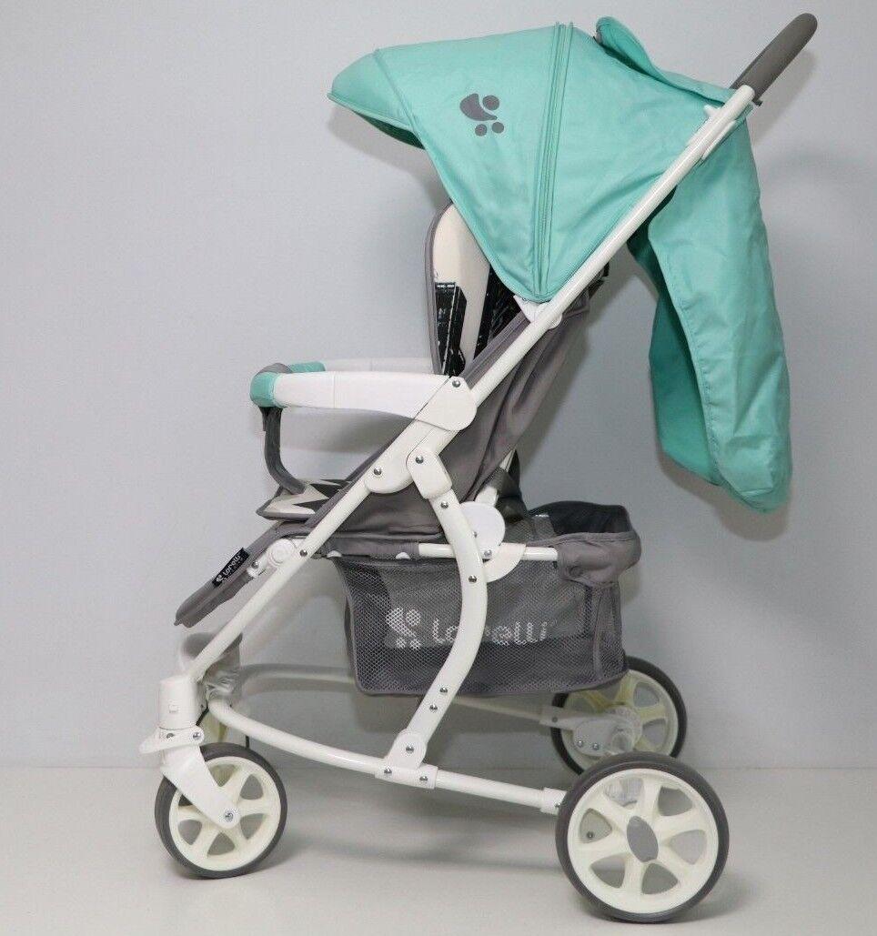 Lorelli Baby Stroller S300 Stadt-Kinderwagen, Farbe: grün