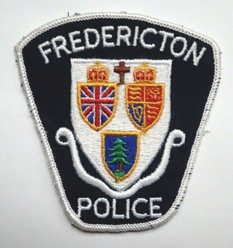 Vintage Frederiction Police Patch - OBSOLETE!