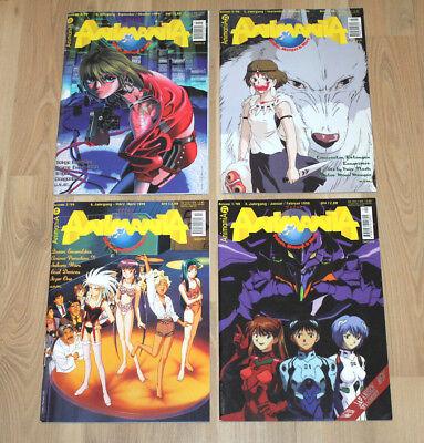 Animania Magazin Magazine Zeitschrift Ausgabe Jahrgang 1999 1998 21 25 28 31