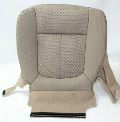 FORD F-150 XLT 2011 2012 2013 2014 DRIVER BOTTOM SEAT COVER ADOVE TAN