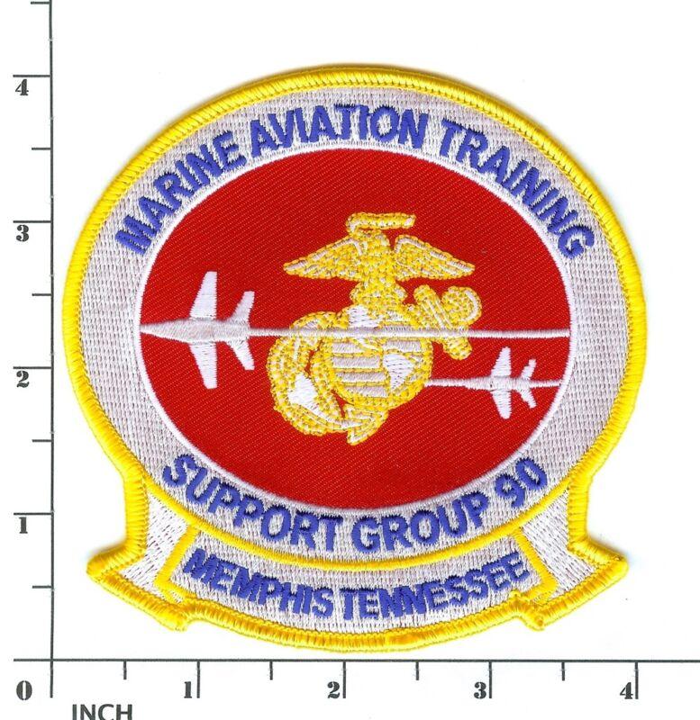 USMC MATSG-90 Marine Aviation Training Support Group PATCH Memphis NAS Marines !